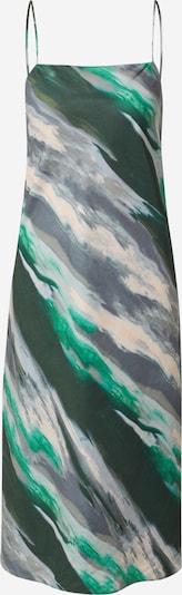 Banana Republic Kleid in grau / dunkelgrau / grün / dunkelgrün / lachs, Produktansicht