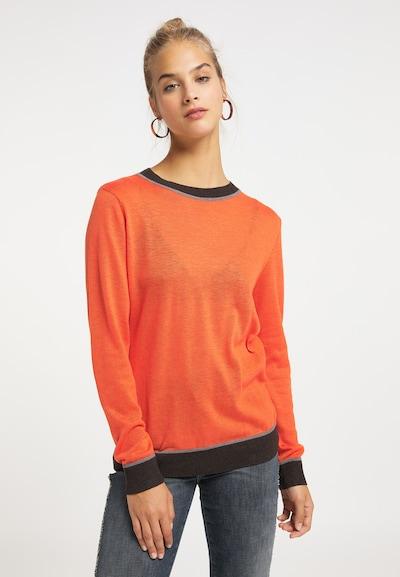 MYMO Pullover in orange, Modelansicht