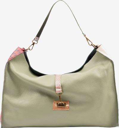 ebarrito Shopper 'SPIN THE WHEEL BAG' in gold / grün, Produktansicht