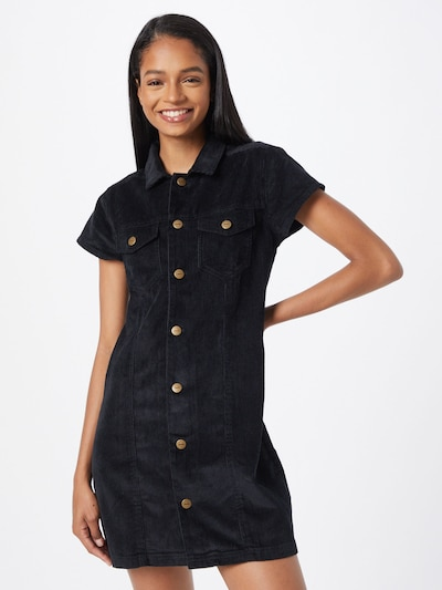 Rochie tip bluză 'Eden' Afends pe negru, Vizualizare model