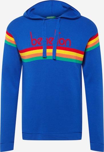 UNITED COLORS OF BENETTON Pullover in blau / mischfarben, Produktansicht