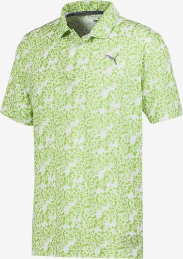 PUMA Poloshirt 'Eleven' in hellgrün, Produktansicht