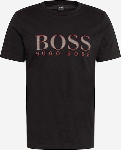 BOSS ATHLEISURE Camiseta en rojo / negro / blanco, Vista del producto