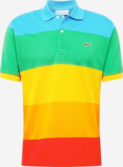 LACOSTE Poloshirt in türkis / gelb / grün / orange / rot, Produktansicht
