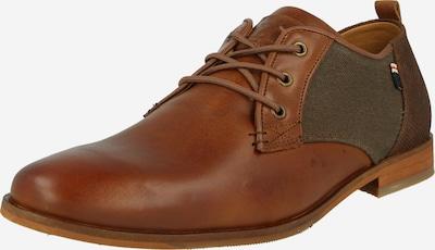 BULLBOXER Buty sznurowane w kolorze brązowy / koniakowym, Podgląd produktu