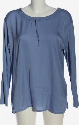 Lecomte Langarm-Bluse in XXXL in blau, Produktansicht