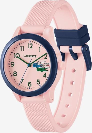 LACOSTE Uhr in dunkelblau / rosa, Produktansicht