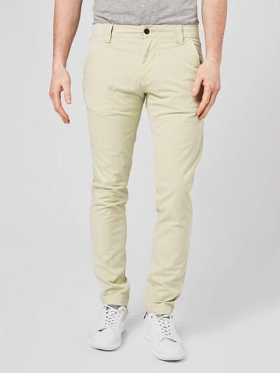 pasztellzöld Tommy Jeans Chino nadrág 'Scanton', Modell nézet