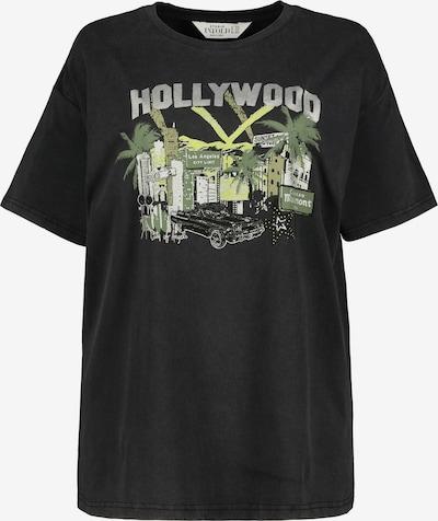 Studio Untold Shirt in de kleur Antraciet / Donkergroen, Productweergave