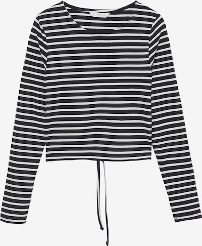 MANGO TEEN T-Shirt en noir / blanc, Vue avec produit