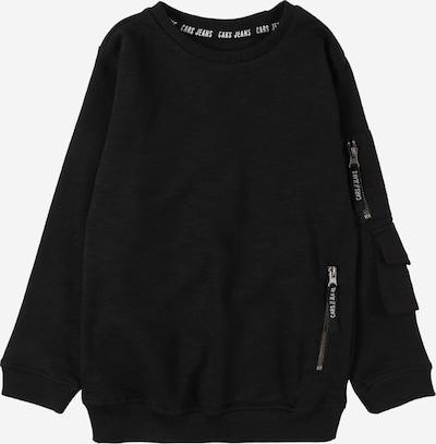 Cars Jeans Sweatshirt 'NARREY' in de kleur Zwart / Wit, Productweergave