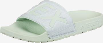 adidas Terrex Beach & Pool Shoes 'Terrex Adilette ' in Green
