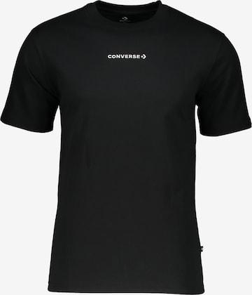 CONVERSE Shirt in Schwarz