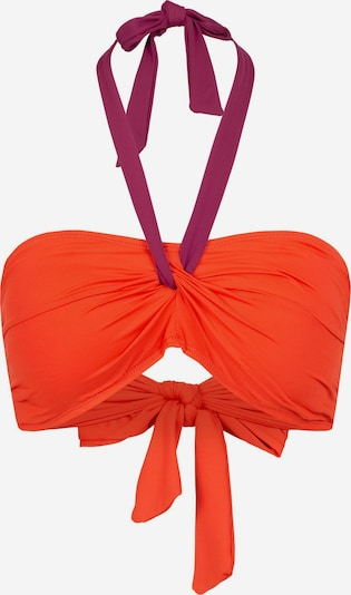 Lauren Ralph Lauren Bikinitop in de kleur Rood / Wijnrood, Productweergave