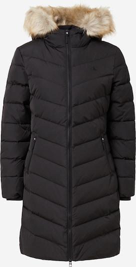 Calvin Klein Jeans Wintermantel in beige / schwarz, Produktansicht