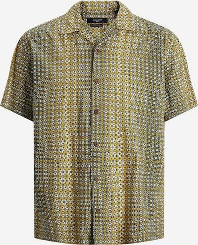 JACK & JONES Hemd in gelb / grün / weiß, Produktansicht
