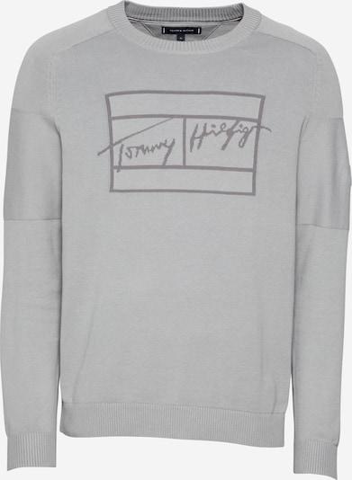 TOMMY HILFIGER Pullover in grau / hellgrau, Produktansicht