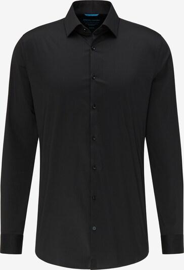 PIERRE CARDIN Basic Hemd 'futureflex' in schwarz, Produktansicht