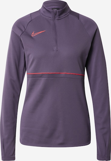 NIKE Koszulka funkcyjna 'Academy' w kolorze ciemnofioletowy / neonowa pomarańczam, Podgląd produktu