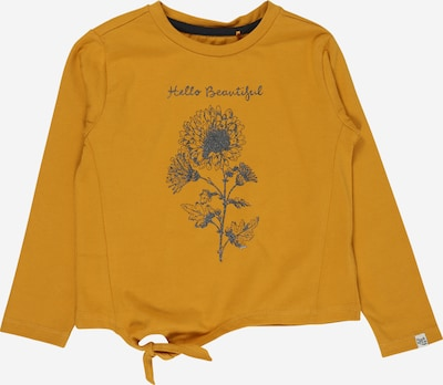 Noppies Shirt 'Senekal' in taubenblau / goldgelb, Produktansicht