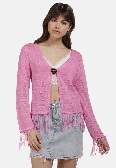 MYMO Strickjacke in pink, Modelansicht