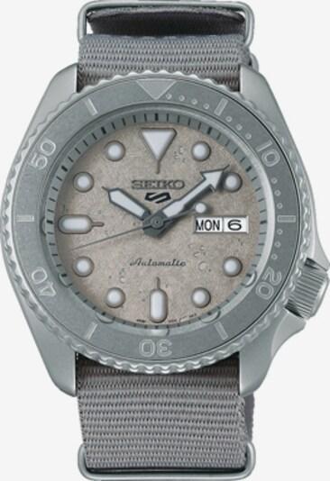SEIKO Uhr in grau / weiß, Produktansicht