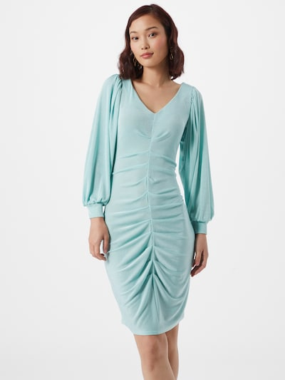 Closet London Vestido de gala 'JD6540' en turquesa, Vista del modelo
