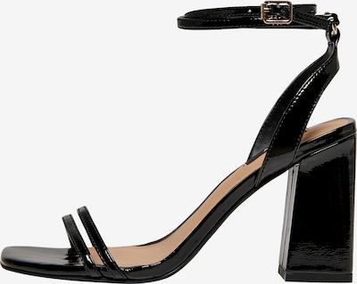 ONLY Sandalen met riem 'ALYX' in de kleur Zwart, Productweergave