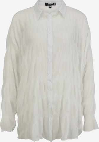 Missguided Tall Pluus, värv valge