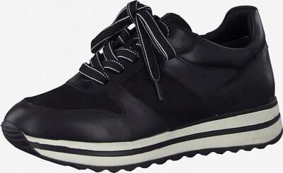 Tamaris GreenStep Zapatillas deportivas bajas en negro / blanco, Vista del producto