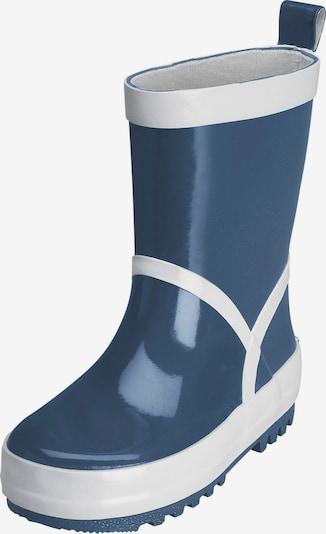 PLAYSHOES Stiefel in dunkelblau / weiß, Produktansicht