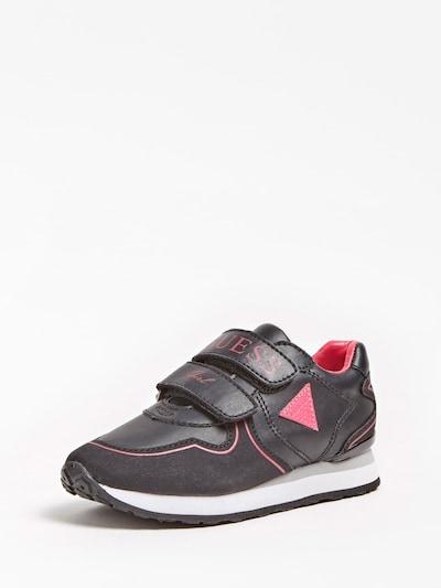 GUESS KIDS Sneaker 'TESSA LOGO' in pink / schwarz, Produktansicht