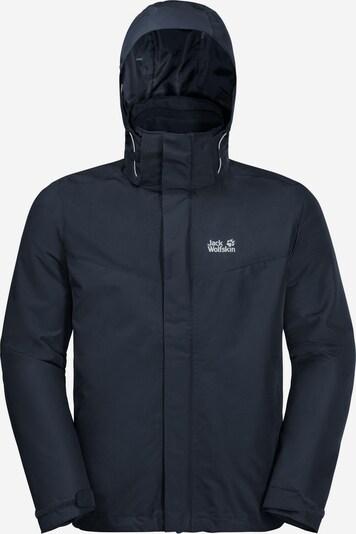 JACK WOLFSKIN Outdoorjas 'Arland' in de kleur Nachtblauw, Productweergave