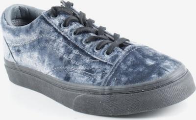 VANS Schnürsneaker in 36 in rauchblau / schwarz, Produktansicht