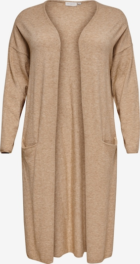 ONLY Carmakoma Knit Cardigan 'Esly' in Light brown, Item view
