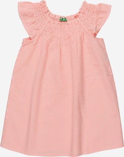UNITED COLORS OF BENETTON Kleid in pink / weiß, Produktansicht