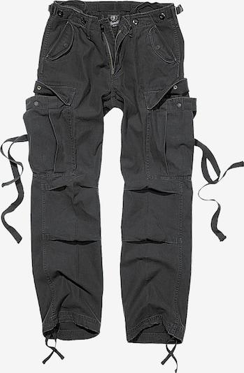 Brandit Cargobroek in de kleur Zwart, Productweergave