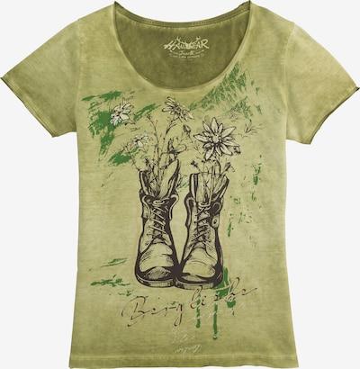 HANGOWEAR Traditional Shirt in Green / Black, Item view