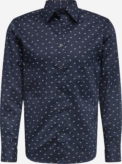 SELECTED HOMME Camisa 'MALCOLM' en azul / blanco, Vista del producto