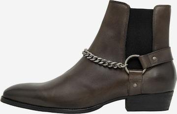 Bianco Boots in Grau