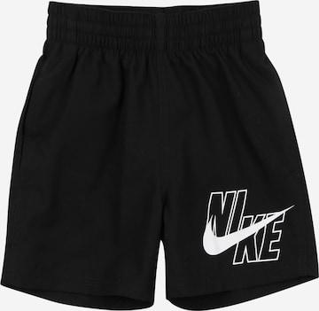 NIKE Athletic Swimwear 'Volley' in Black