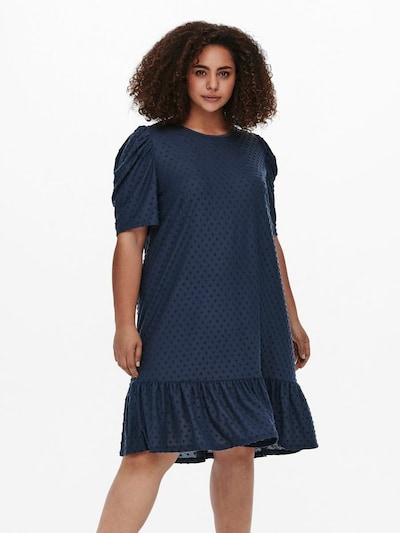 ONLY Carmakoma Kleid in dunkelblau, Modelansicht