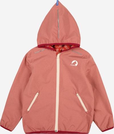 FINKID Prechodná bunda 'VALAS' - béžová / sivá / broskyňová / červená, Produkt