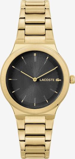 LACOSTE Analoguhr in gold / schwarz, Produktansicht