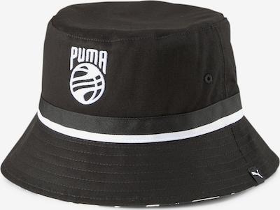 PUMA Casquette de sport en noir / blanc, Vue avec produit