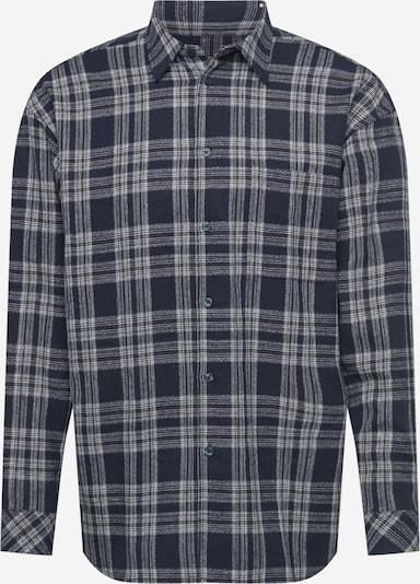 Samsoe Samsoe Hemd 'Luan' in navy / weiß, Produktansicht