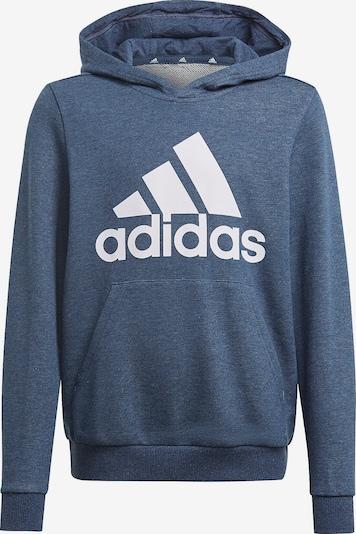 ADIDAS PERFORMANCE Sportsweatshirt in taubenblau / weiß, Produktansicht