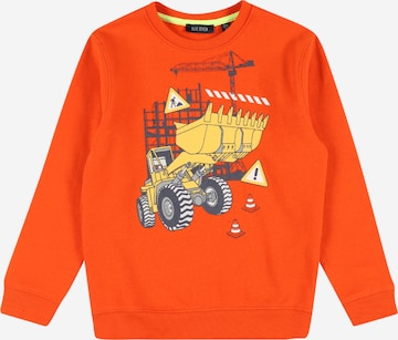 BLUE SEVEN Sweatshirt in Orange