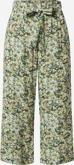 Pantaloni Marc O'Polo DENIM di colore crema / verde erba / verde scuro / bianco, Visualizzazione prodotti