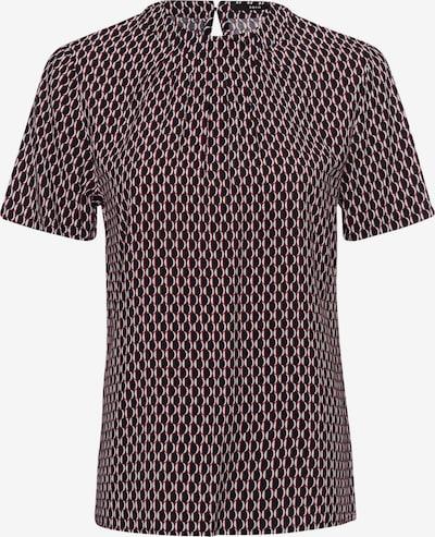 zero Bluse in lila / schwarz, Produktansicht